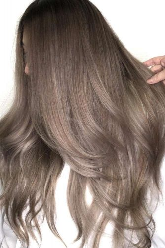 Beautiful Ash Brown Hair Ideas for Long Hair picture1