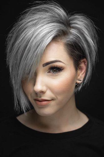 Beautiful Grey Hairstyles picture2