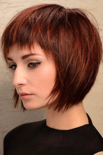 Bob Hairstyles with Bangs picture1