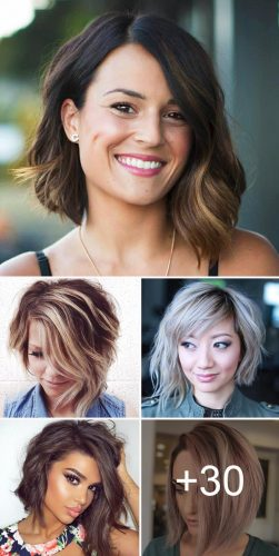 Bold And Daring Asymmetrical Bob Haircuts