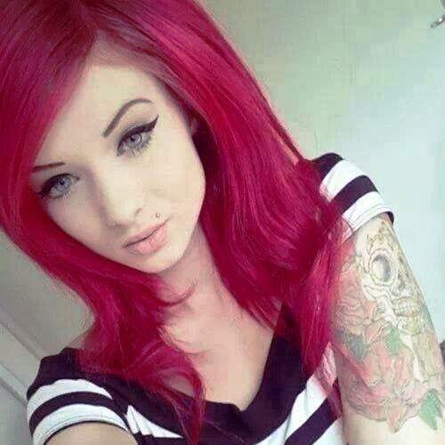 Bombshell Red Hairdo