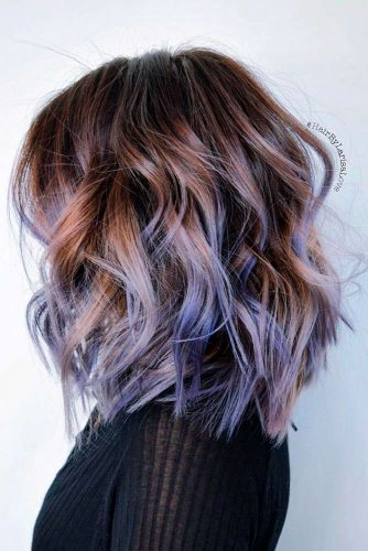 Bright Colors Balayage Hair Color picture 1