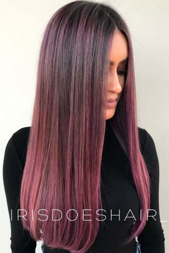 Bright Colors Balayage Hair Color picture2
