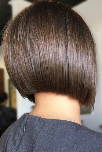 Brown Short Bob Straight Hair #shortbob #shortbobhairstyles #shorthairstyles #hairstyles #brownhair