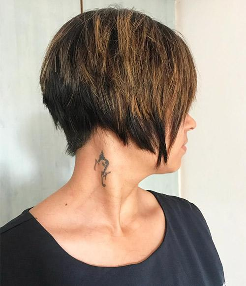 Brown Top Bob