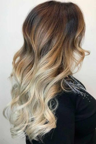 Buttery Blonde Ombre