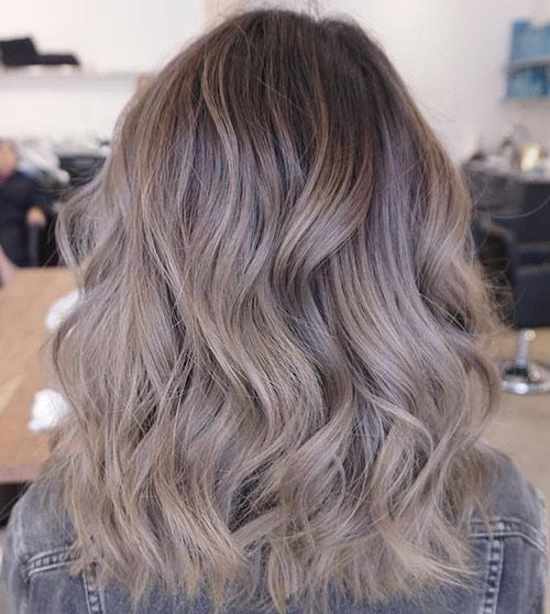 Cappuccino Ash Brown Hair