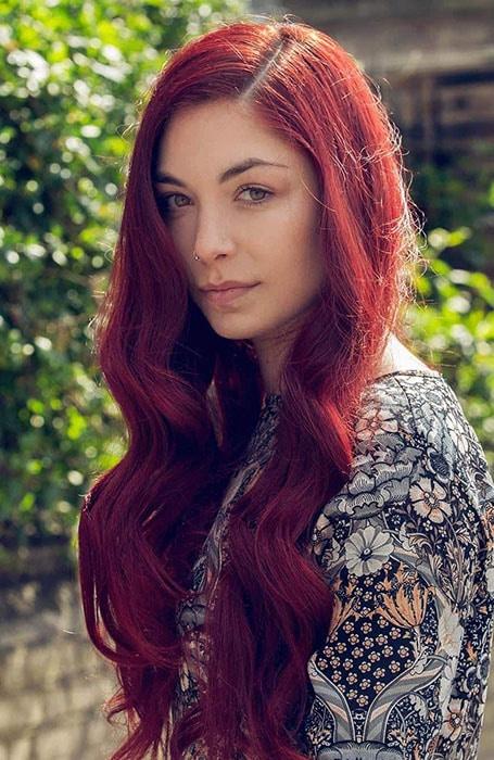 Cherry Hair Color