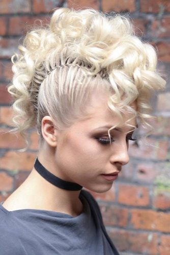30 Girly Braided Mohawk Ideas Hairs London