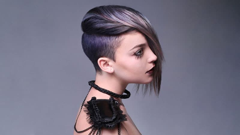 Colored Undercut