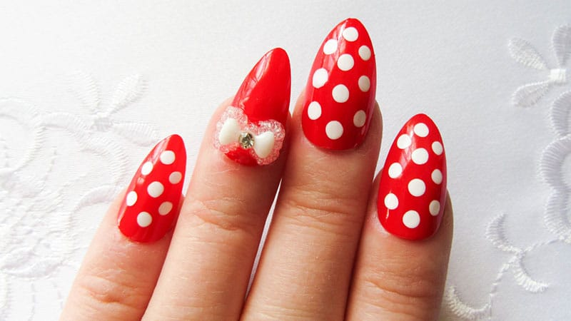 Cute Almond Shaped Nails