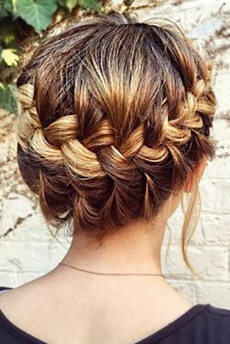 cute-braided-short-hair-styles-brown-braids-shor - Hairs.London