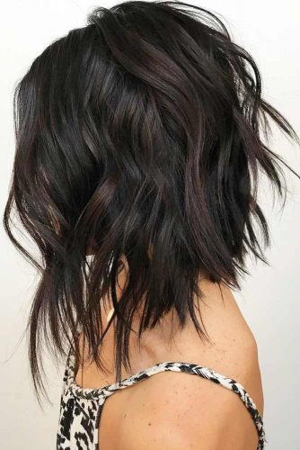 Cute Layered Hairstyles For Medium Length Hair 21