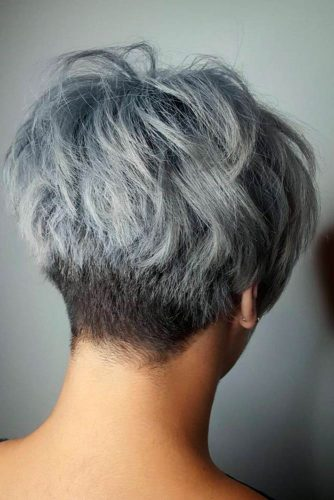 Cute Short Grey Hairstyles picture2