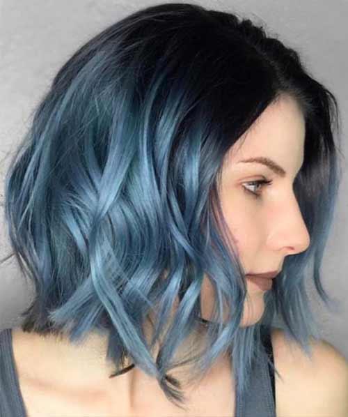 Denim Blue Ombre