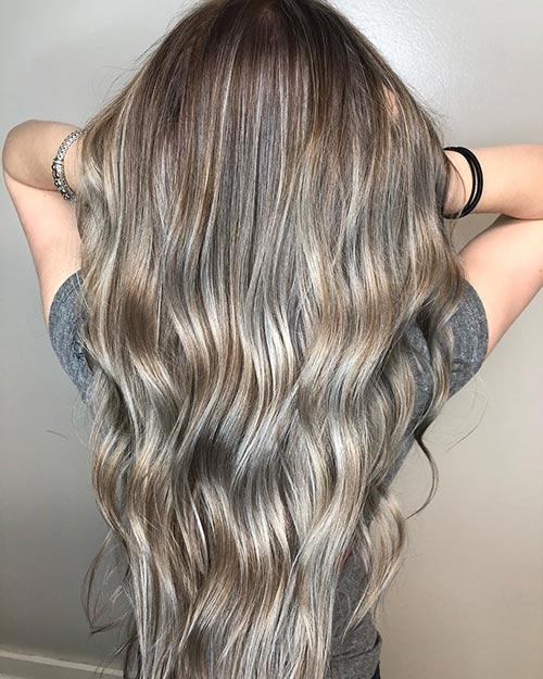 Dirty Blonde Hair Shades - Cool Dirty Blonde Blend