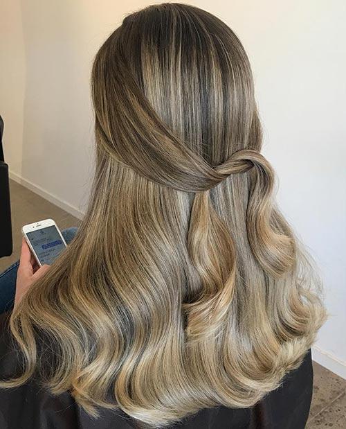Dirty Blonde Hair Shades - Dirty Blonde Balayage