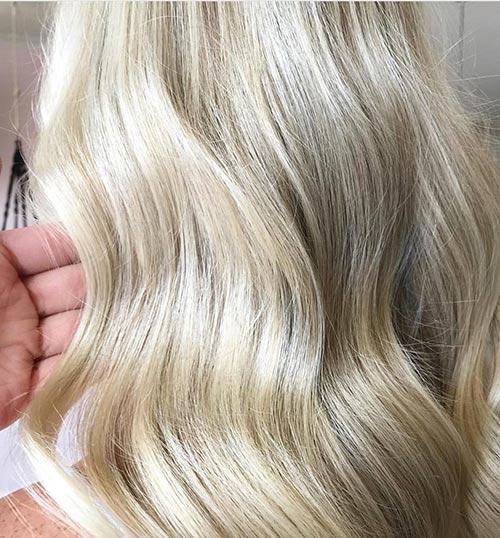Dirty Blonde Hair Shades - Golden Platinum Dirty Blonde
