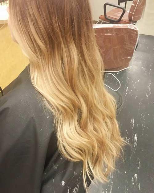 Dirty Blonde Hair Shades - Half and Half Dirty Blonde