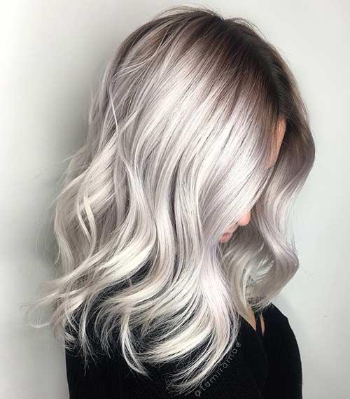 Dirty Blonde Hair Shades - Platinum Dirty Blonde