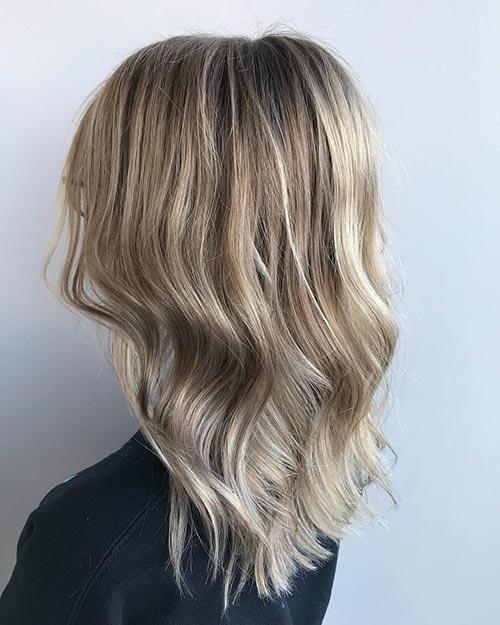 Dirty Blonde Hair Shades - Sandy Dirty Blonde