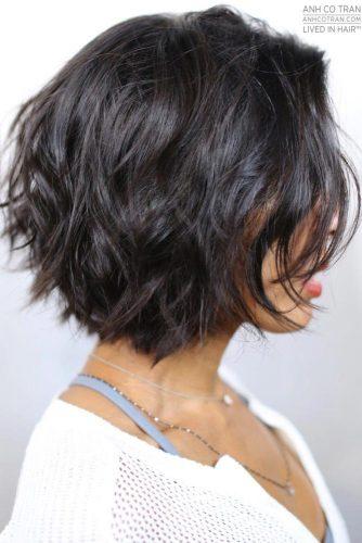 Dual Textured Short Haircuts