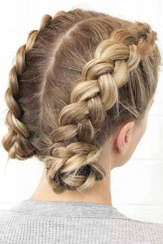 30 Charming Braided Hairstyles For Short Hair Hairs London
