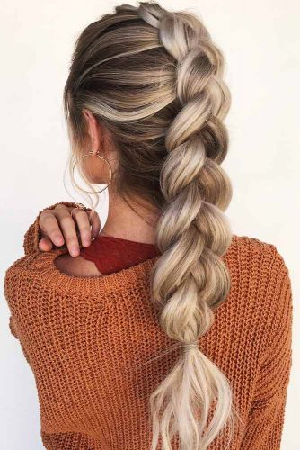 Dutch Mohawk Braid #braids #mohawk
