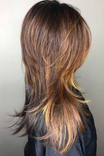 Feathered Long Shag Haircut #shaghaircut #haircuts #longhair