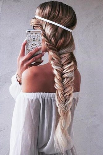 French Fishtail Braid Styles picture3