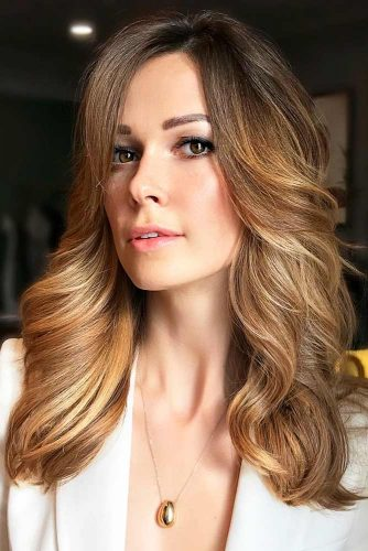 Golden Brown Ombre #brownhair #blondehair #ombre