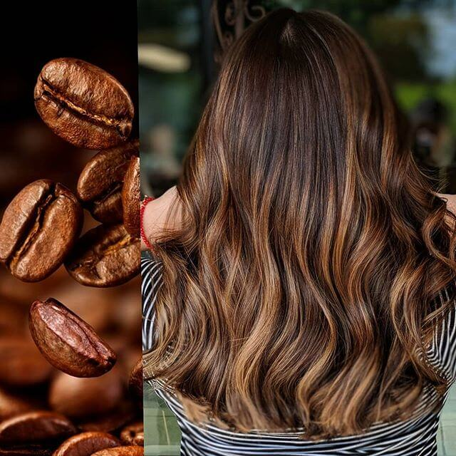 Hairstyle For Women With Coffee-Inspired Color