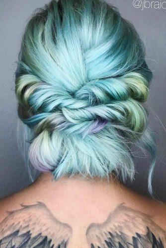 Half-Up Twist Hairstyle