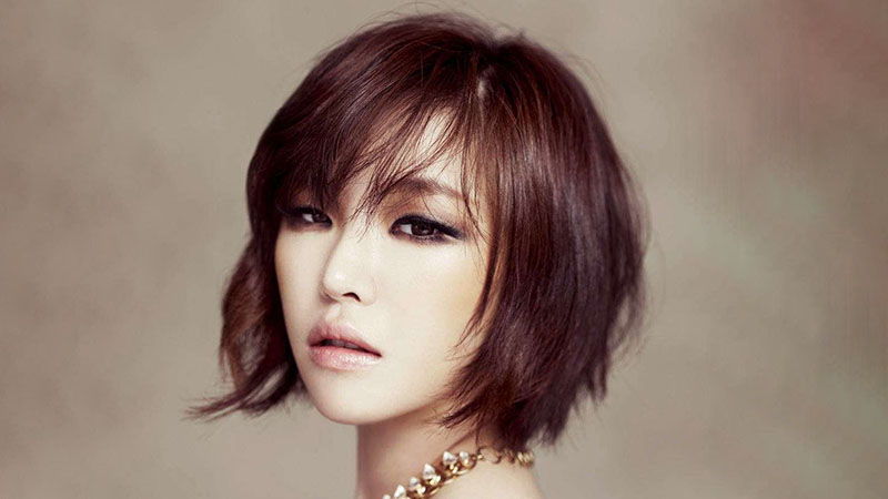 Inverted Bob For Round Face Shape