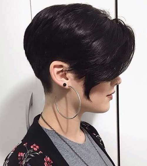 Layered Bangs Pixie
