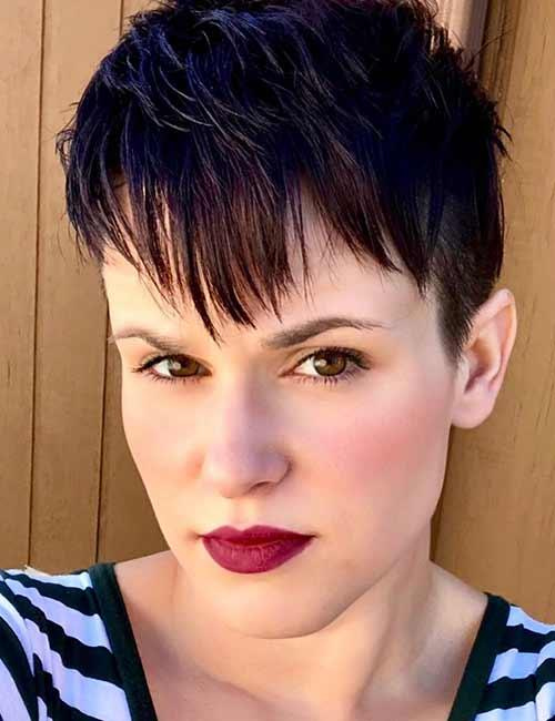 Layered Faux-Hawk