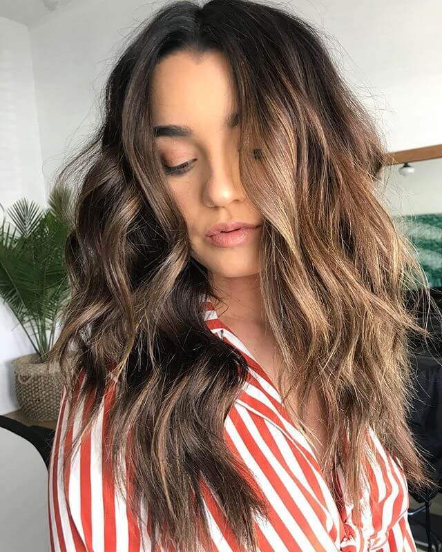 Layered Haircut For Brown Hair With Length