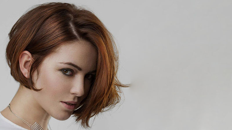 Layered Inverted Bob Hairstyle