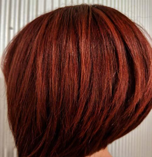 Layered Short A-line Bob