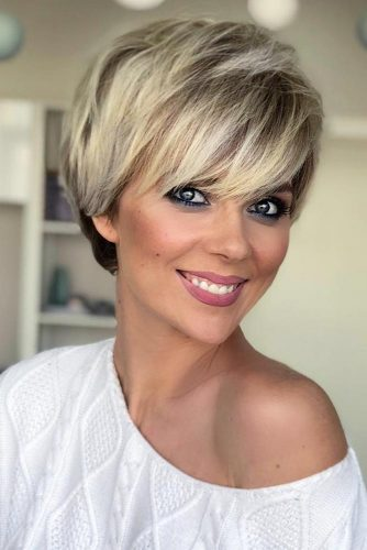 27 SHORT HAIRSTYLES TO WEAR AT THE CHRISTMAS PARTY - Hairs.London