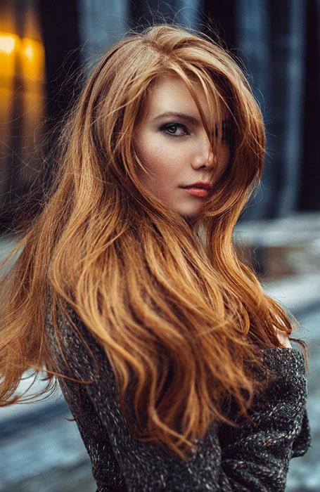 Light Auburn Hair Color