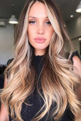 Light Brown Hair with Sandy Highlights #brunette #brownhair #highlights
