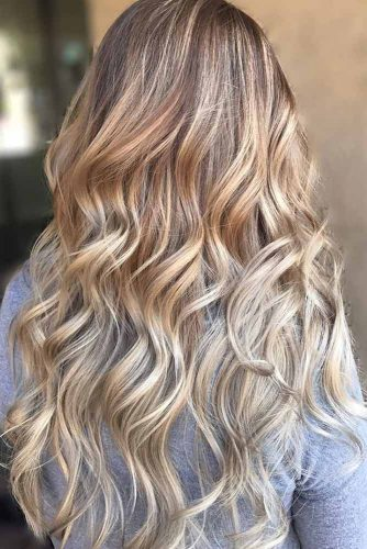 Light Brown to Blonde Balayage picture1