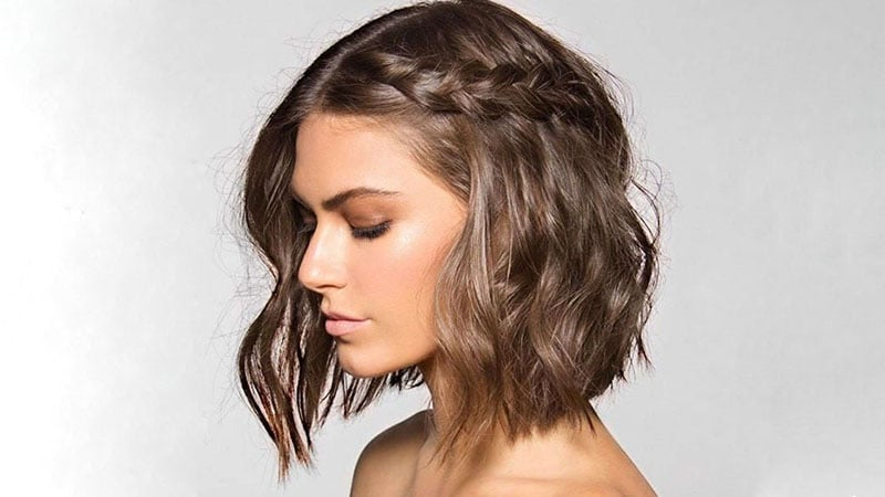 Long Bob Formal Hairstyle