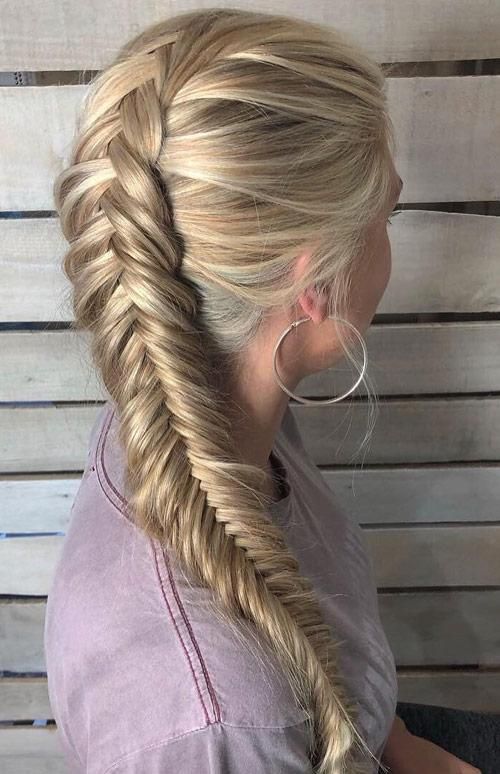 Loose To Tight Side Braid