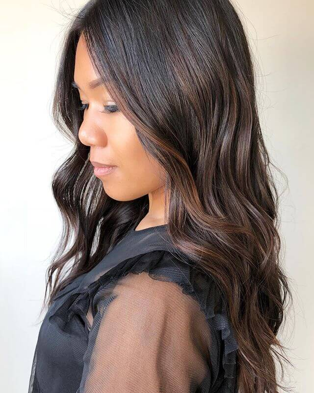 Lovely Long Curls For Business Or Casual