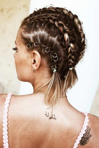 Marvelous Braid Hairstyles Cornrows #braids #shorthair