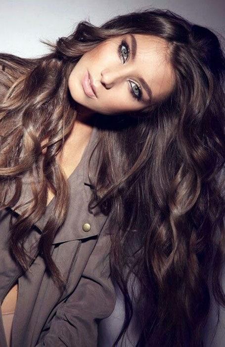 Medium Brown Highlights on Dark Brown Hair