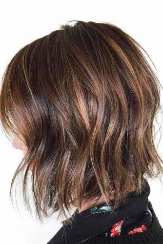 Messy Long Bob Haircuts #mediumbob #haircuts #bobhaircuts #longbob