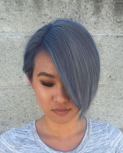 Pastel pixie haircut